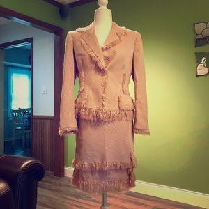 Vintage Blush Anne Klein Suit Set